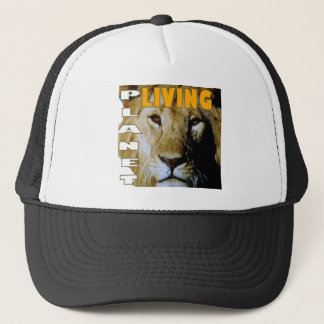 Lion Living planet eco-friendly Trucker Hat