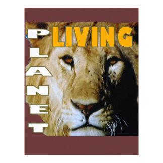 Lion Living planet Letterhead