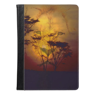 Lion Looking Over African Sunset iPad Air Case