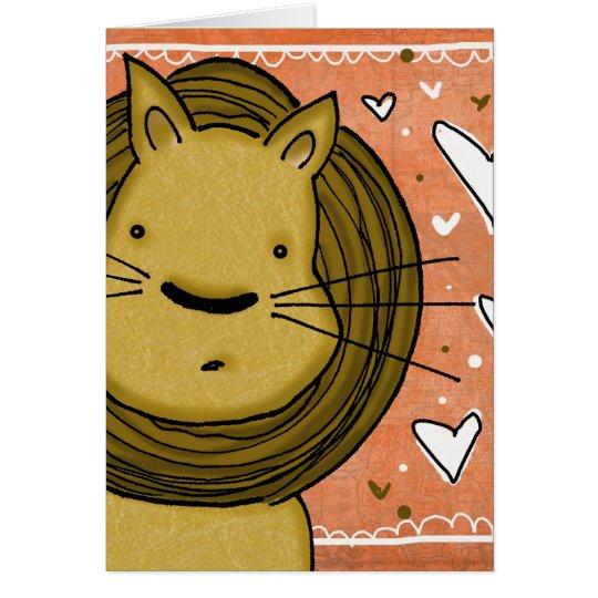 Lion Love Card