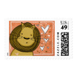 Lion Love Stamp