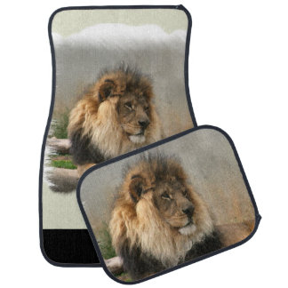 Lion Lovers King of the Jungle Car Floor Mat