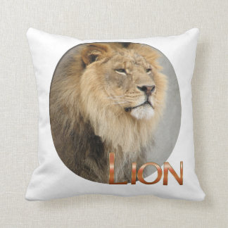 Lion Lovers King of the Jungle Throw Pillow