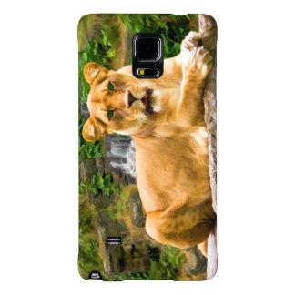 Lion Lying on Rock Galaxy Note 4 Case