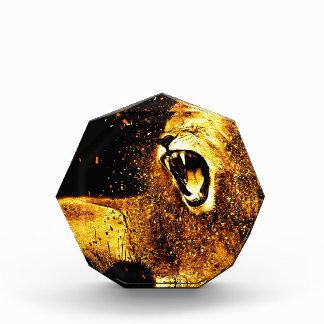 Lion Mane Hair Fur Cat Predator Males Head Award