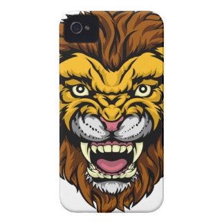 Lion Mascot iPhone 4 Case-Mate Cases