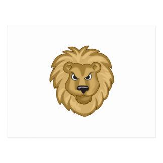 LION MASCOT POSTCARD