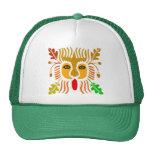LION MASK ART TRUCKER HATS