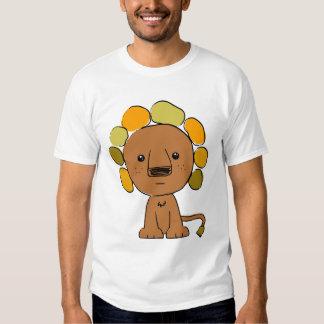 Lion Melange Ringer T-Shirt