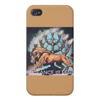 LION / MENORAH COVER FOR iPhone 4