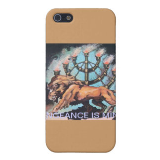 LION / MENORAH COVER FOR iPhone SE/5/5s