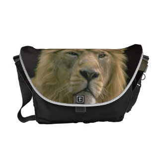 Lion Messenger bag Personalize with your own Text