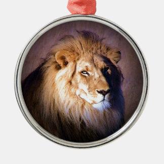 Lion Metal Ornament