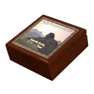Lion Mizrach Jewelry Box
