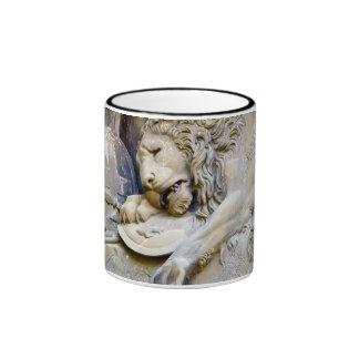 Lion Monumant detail, Lucerne area Coffee Mug