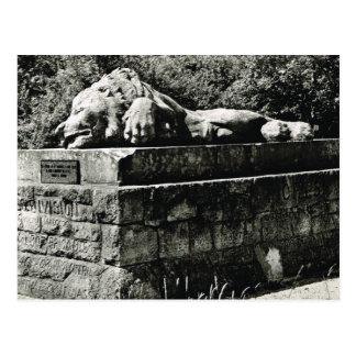 Lion Monument, Verdun Postcard