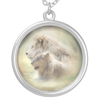 Lion Moon Wearable Art Necklace