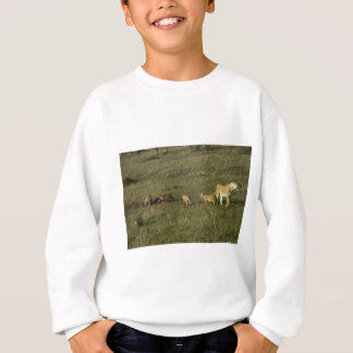 LION MOTHER AND CUBS SWEATSHIRT
