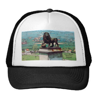 Lion Mound At The Battlefield Of Waterloo Trucker Hats