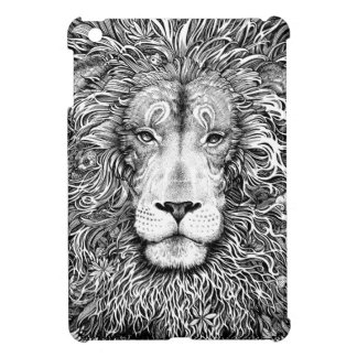 Lion nest black and white case for the iPad mini