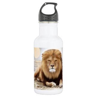 Lion Ocean Photo Paint Water Bottle