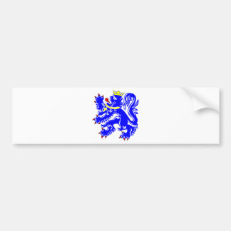 Lion of Bruges Bumper Sticker