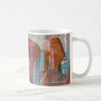 Lion of God in the City of Man Mug