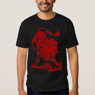 Lion of Islam Red Tee Shirt