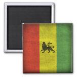 Lion of Judah 2 Inch Square Magnet