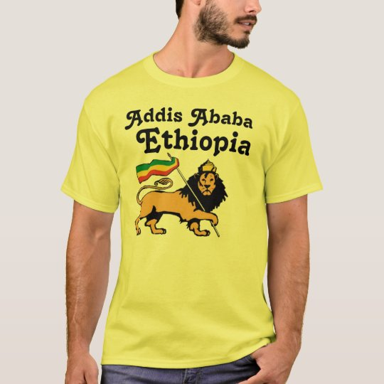 Lion of Judah, Addis Ababa, Ethiopia T-Shirt