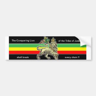 Lion of Judah Bumper Sticker