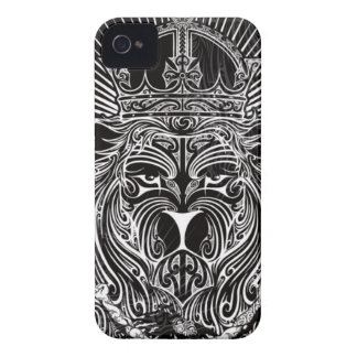 Lion of Judah BW iPhone 4 Covers