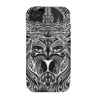 Lion of Judah BW Case-Mate iPhone 4 Covers