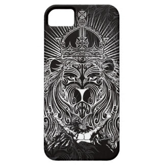 Lion of Judah BW iPhone SE/5/5s Case