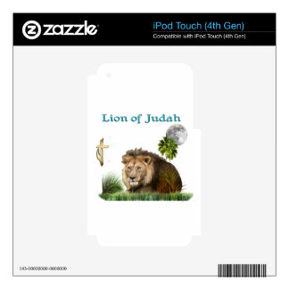 Lion of Judah Christian gifts and clothing Skin For iPod Touch 4G