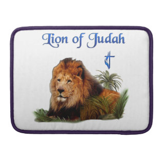 Lion of Judah christian gifts Sleeve For MacBook Pro