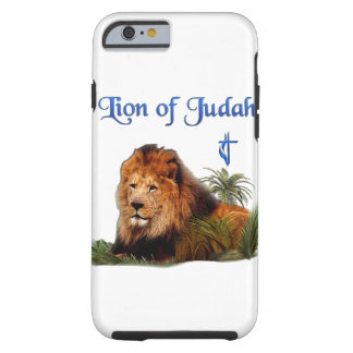 Lion of Judah christian gifts Tough iPhone 6 Case