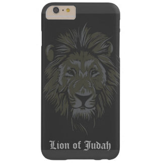 Lion of Judah Custom iPhone Case Barely There iPhone 6 Plus Case