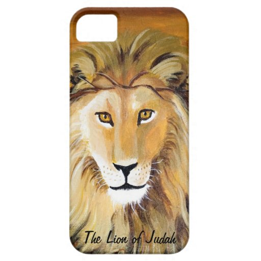Lion of Judah iPhone 5 Covers