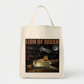 Lion Of Judah On The Western Wall Tote Bag