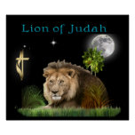 :Lion of Judah Poster Print