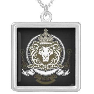 Lion of Judah - square necklace