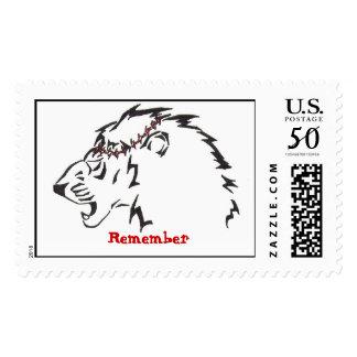 Lion of Judah Stamp