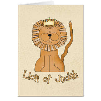 Lion of Judah Stationery Note Card
