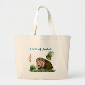 Lion of judah t-shirts and more large tote bag