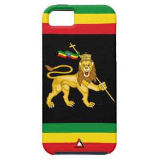 Lion of Judah w/Ethiopia Star iPhone SE/5/5s Case