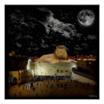 Lion Of Judah Western Wall Poster