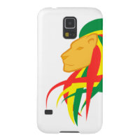 Lion of Judah  - White Samsung Galaxy S5 Case