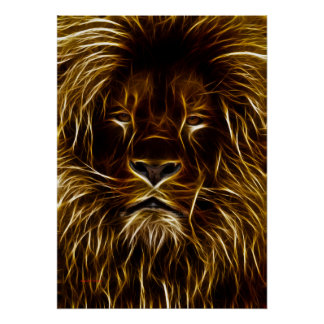 Lion of Light Poster