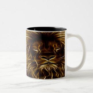 Lion of Light Two-Tone Coffee Mug